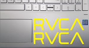 "(X2) 6"" RVCA Surfing Skateboarding Die-Cut Vinyl Decal Stickers     Choose Color"