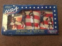1996 USA OLYMPIC TEAM BASKETBALL STATING LINEUP BY KENNER