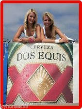 Dos Equis Beer Sexy Babes Refrigerator Magnet