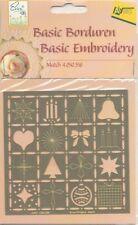 Pochoir à estamper à broder Noël Embossing Embroidery Folder Christmas
