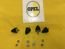 NEU 4 x Anschlagpuffer Vorderachse für alle Opel Kadett B Modelle Puffer vorne
