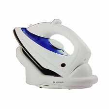 New Cordless steam Iron With Non-Stick Soleplate 1600 Watt + Iron Holder