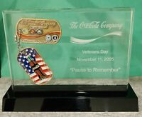 2005 Coca-Cola Veterans Day RARE Challenge Coin VIP Box Set! Numbered to 200!