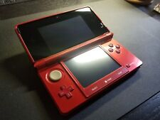 Flame Red Nintendo 3ds EXCELLENT CONDITION