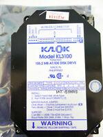 "Vintage Kalok Octagon IDE 3.5"" Hard Disk Drive Kl-3100 105.2Mb Untested AS IS"
