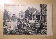Montreal Quebec Jacques Cartier Square Market Day 1907 Postcard