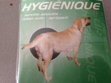 culotte slip hygienique chien TAILLE 1 PETIT CHIEN  NOIR