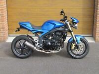 2005/54 Triumph Speed Triple 1050 with 21,400m in Blue