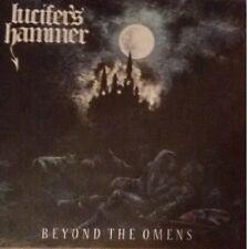 LUCIFER S HAMMER - BEYOND THE OMENS LP   LIMITED EDITION ON BLUE SPLATTER VINYL