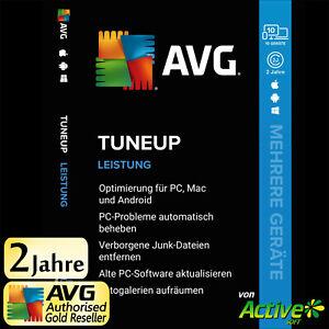 AVG TuneUp 2021 - Mehrere Geräte | 10 Geräte 2 Jahre | Tuneup UNBEGRENZTE UE DE