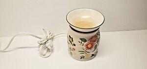 Vintage Yankee Candle Warmer Electric Room Fragrance 19-00046 Flowers