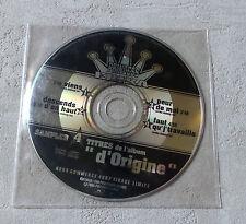 """CD AUDIO FR/ PRINCESSE ERIKA """"FAUT QU'J'TRAVAILLE""""  TIRAGE LIMITÉ HORS COMMERCE"""