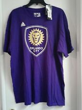 "Orlando City Soccer Club adidas Shirt Size XL ""The Go To Tee"""