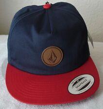 Volcom Men's Single Stone Premium Snapback Hat