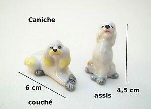 caniche, chien, miniature, maison de poupée, vitrine, collection,dog,hond **S12