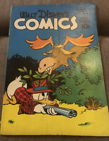 66 WALT DISNEY'S COMICS & STORIES #68 1946 DELL GOLDEN AGE COMIC CARL BARKS ART!