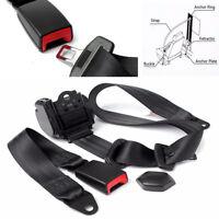 Automatic Retractable 3-Points Auto Car Truck Bus Safety Seat Lap Belt Set Kits