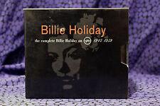 The Complete Billie Holiday On Verve 1945-1959, 10 CD BOX SET PolyGram 1992