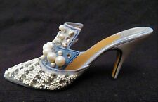 Just The Right Shoe Collection Frosted Fantasy Pump Heel Shoe New No Box Rare