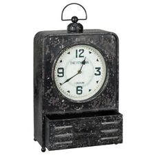 Cooper Classics Patton Table Clock, MetaL - 40719