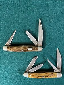 Two Wards Stockman Folding Pocket Knives, Great Users