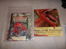 D&D D20 4.0 4th Ed Encounters Lair Assault Attack of the Tyrantclaw