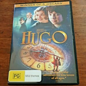Hugo DVD  R4 VERY GOOD – FREE POST