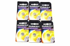 Duracell Button Cell Type 303 357 Watch Electronic Batteries 6 Pack
