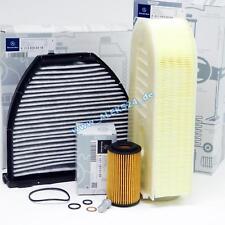 Originale Mercedes Confezione Filtri Kit Diagnosi Auto Classe C-Classe W204 W212