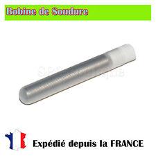 Bobine de soudure etain 1mm/Flux - Sn62Pb36Ag1