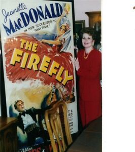 HOME THEATER DECOR FRAMED FIREFLY 1937 POSTER Jeanette MacDonald MGM 4 ' x 7'