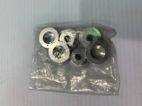 NEW GENUINE ANODISED CLUTCH SPRING CAPS FOR DUCATI VARIOUS EARLY MODELS SILVER