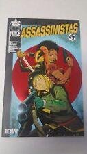 Assassinistas #1 RI 1:10 Variant Cover IDW NM J&R