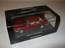 1:43 Bentley Continental R redmetallic 1996 Minichamps 436139920 NEW 1 of 1488