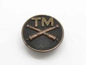 WWI Army Artillery TM Trench Mortar Enlisted Collar Disc VERY RARE