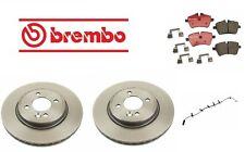 For Mini Cooper 7//06-08 R52 L4 1.6L Brembo Rear /& Front Disc Brake Pad Set Kit