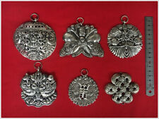 Tribe handmade miao silver costume jewellery DIY accessroy ornament panel 1piece