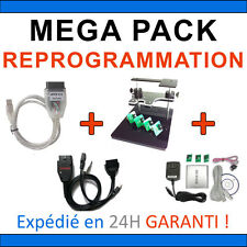 MEGA PACK REPROGRAMMATION : BDM 100 + BDM FRAME + MPPS V13 + GALLETTO 1260 OBD2