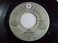 Gary Numan Cars / Metal 45 1979 ATCO Vinyl Record