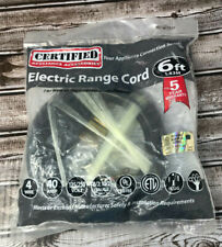 Electric Range Cord 90-2064 4 Wire / 40 Amp / 6 Ft. / 125/250V New Free Shipping
