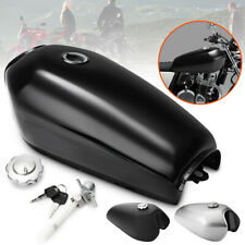 Motorcycle 9 L 2.4 Gallon Fuel Gas Tank Cap Swith For Honda CG125 Cafe Racer