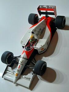 BIG SCALE 1:12 Tamiya F1 McLaren Honda MP4/6 Senna mit Figur selten