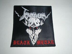 VENOM BLACK METAL EMBROIDERED PATCH