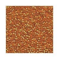 Miyuki Seed Beads 11/0 Matte Silver Lined Dk Gold 11-4F Glass 23g Round Size 11