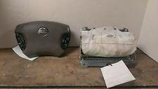 03 04 Nissan Altima Air Bag Set  Wheel Bag With Audio & Cruise Dash Bag Tan OEM