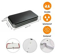 80 CD DVD Carry Case Disc Storage Holder CD Sleeve Wallet Ideal for In Car BLACK