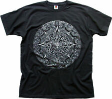 mayan aztec mythical calendar 2012 doomsday black t-shirt 0109