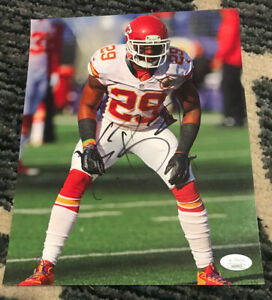 Eric Berry Kansas City Chiefs JSA COA SIGNED 8x10 PHOTO AUTOGRAPHED All Pro