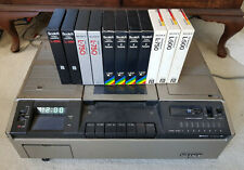 Sony SL-8000AS Betamax VCR Video Cassette Recorder - Betacord Betamax w 11 tapes