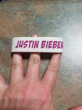 Justin Bieber Fan Club Member Rubber Bracelet Bieber Fever